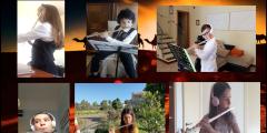 La carovana nel deserto - Musica in DAD