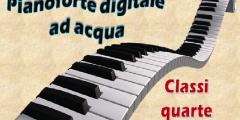 Pianoforte digitale ad acqua