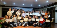 Consegna diplomi DELF B1 a.s. 2018/19