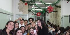 La cena di Natale dei Convittori